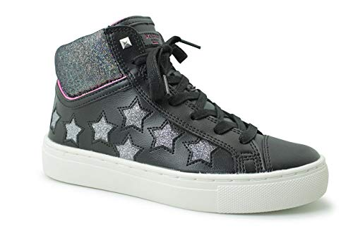 Zwart funk Meisjes Sneakers Sidestreet Skechers Out It TIaaBq
