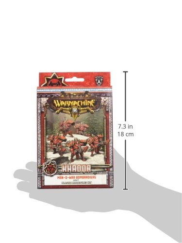 Privateer Press - Warmachine - Khador Man-O-War Bombardiers (Plastic) Model Kit 5