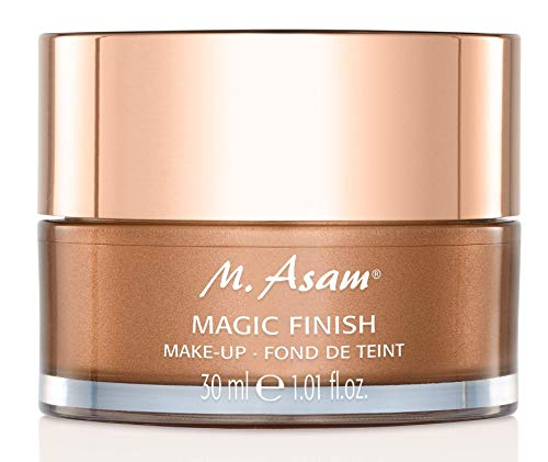 M. Asam, Magic Finish, Lightweight, Wrinkle-Filling Makeup Mousse, 4-In-1, Primer, Concealer, Foundation and Powder – 1.01 Ounce 30 ML