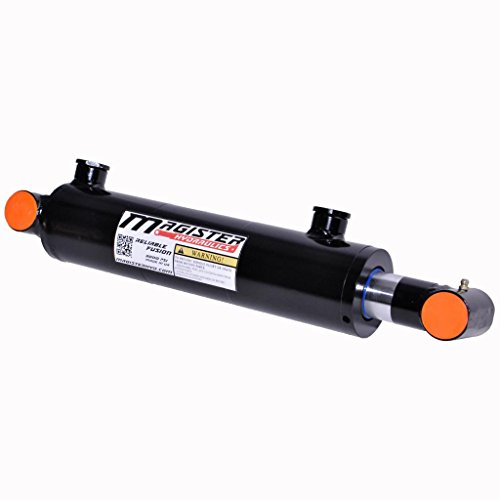 Hydraulic Cylinder Welded Double Acting Cross Tube (2.5x16) by Magister Hydraulics