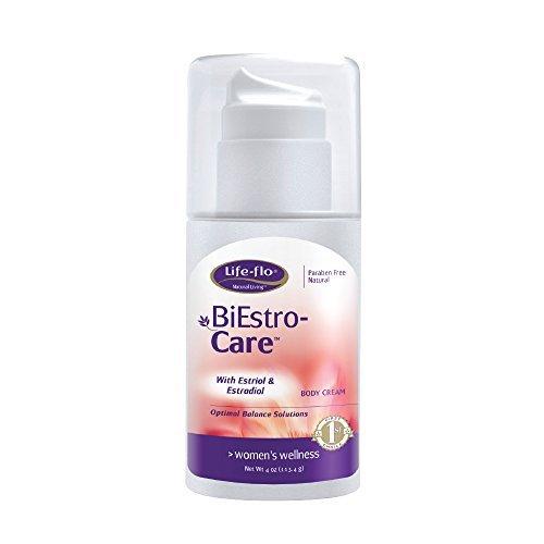 Life-Flo BiEstro-Care   Estrogen Cream w/ Estriol USP & Estradiol USP   Physician-Developed Cream for Optimal Balance   4-oz Pump