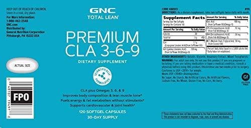 GNC Total Lean Premium CLA 3-6-9 - Twin Pack by GNC (Image #4)