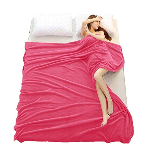 TEXXIS 3 Type Coral Throw Blanket Soft Office Air Conditioning Blanket Coral Blankets Throws (Best Type Of Blanket)