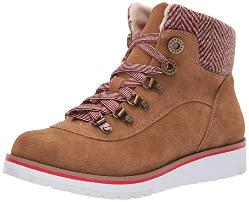 Anne Klein AK Sport Women's Willpower Bootie Ankle Boot, Cognac, 10 M US