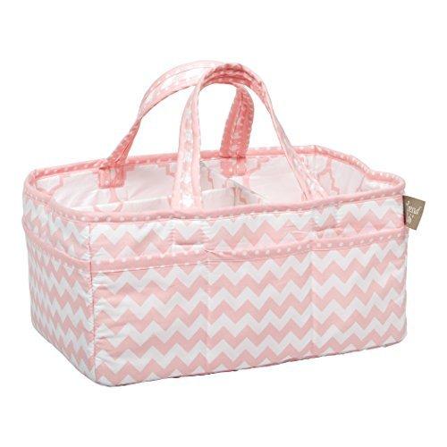 Trend Lab Pink Sky Storage Caddy Model: 100799 (Newborn, Child, Infant) ()