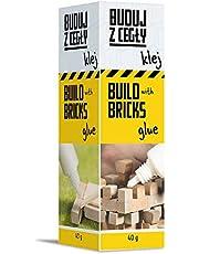 Trefl Brick Trick Buduj z Cegły – Klej, 40g, Rozpuszczalny w Wodzie, Łącz Cegiełki, Klej Deseczki, Ozdabiaj Budowlę, Dla Fanów Budowania, DIY, Kreatywna Zabawa, dla Dzieci od 6 Lat