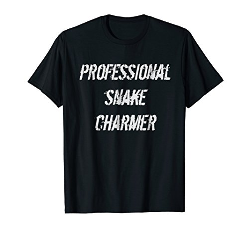 Snake Tshirt Professional Snake Charmer India Funny -