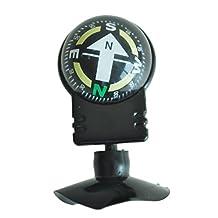 SODIAL(R) Compass Dashboard Dash Mount Navigation Car Boat Truck Suction Black