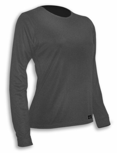 - Polarmax Women's Micro H2 Double Layer Crew, Dove, Small