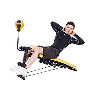 soges Adjustable Sit Up Bench Weight Bench Decline Exercise Bench Workout Bench Strength Training Board Ab Bench Slant Bench YKTH-ASM-Y