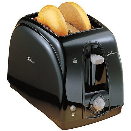 2-Slice, Extra-Wide Slots, Cool Touch Toaster, Black