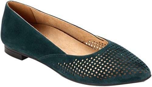 Womens Gem Posey Ballet Plat Turquoise Taglia 5