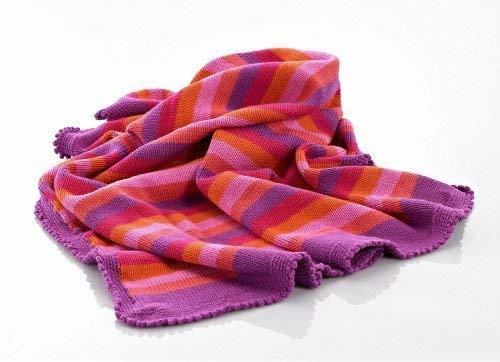Baby Blanket - Pink Stripey [並行輸入品]   B077ZPVS4D