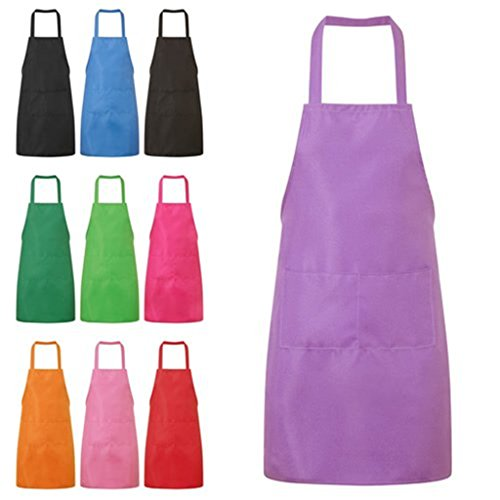 purple cooking aprons for women - 2