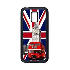 UK Flag London Big Ben Red Bus Personalized Custom Case For SamSung Galaxy S5 mini