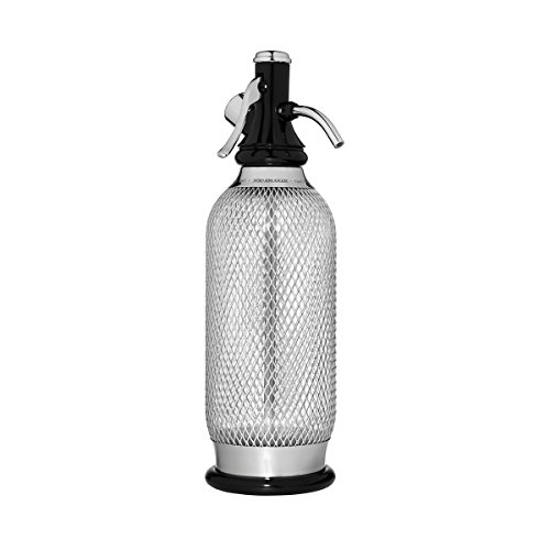 iSi Sodamaker Classic Mesh 1 Quart Soda Siphon Bottle with Chargers