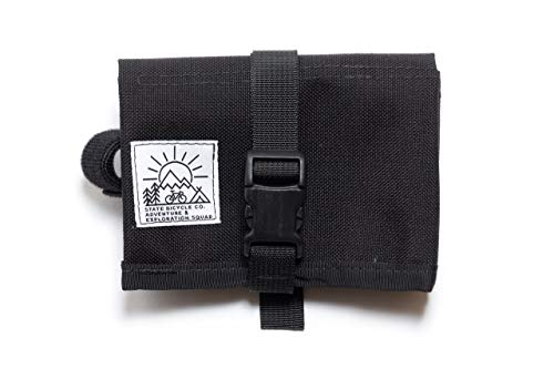 State Bicycle Co x Road Runner Bike Tool Roll Pouch, Black