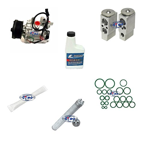 A/C remanufacturados Compresor Kit para Honda Civic 2006 -2011 L4 1.8L (trse07) 97555: Amazon.es: Coche y moto