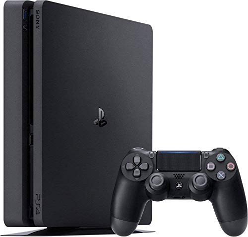Playstation 4 Slim 2TB SSHD Console with Dualshock 4 Wireless Controller Bundle Enhanced with Fast Solid State Hybrid Drive