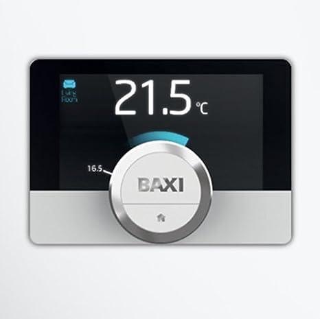 Cronotermostato de pared Baxi Mago con módulo WiFi y Kit Adaptador caldera