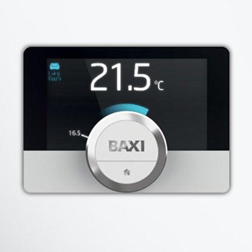 Cronotermostato de pared Baxi Mago con módulo WiFi y Kit Adaptador ...