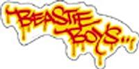 Licenses Products Beastie Boys Graffiti Sticker
