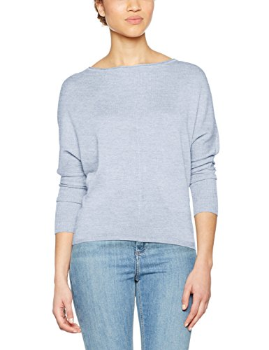 Only Onlcosy L/S Boatneck Pullover Knt, Suéter para Mujer Azul (Celestial Blue)