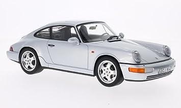 Porsche 911 Carrera 4 (994), plateado , Modelo de Auto, modello completo, GT espiritu 1:18: Amazon.es: Juguetes y juegos