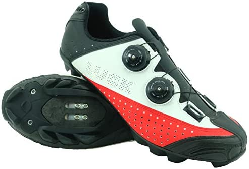 LUCK , zapatillas de ciclismo mtb , LUCK LASER , con suela de carbono , doble