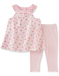 Girls' Two Piece Fashion Top and Legging Set
