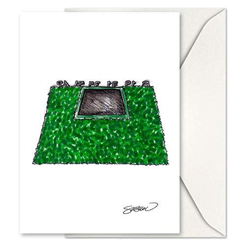 (S. Preston Art + Designs Petco Park - San Diego Padres - Minimalist Sketch Greeting Card Set (12 Card Set))