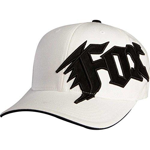 Fox Head Big Boys' New Generation Flexfit Hat, White, One Size