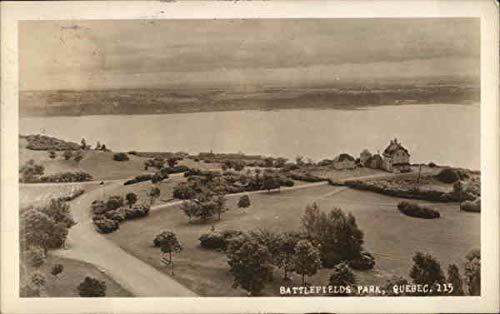 Battlefields Park Quebec, Quebec Canada Original Vintage Postcard ()