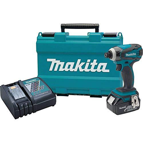 Makita XDT042-R 18V LXT Cordless Lithium-Ion 1/4 in. Impact Driver Kit (Certified Refurbished)