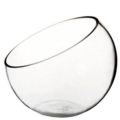 CYS® Plant Terrarium Half Cut Slant Bowl Vase. H 7 Part 51