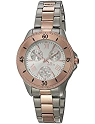 Invicta Womens 21686 Angel Analog Display Quartz Two Tone Watch