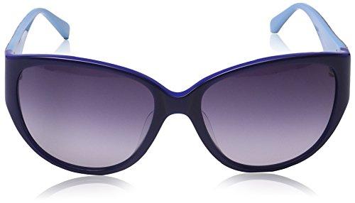 MMissoni - Lunette de soleil MM609S Œil de chat  - Femme Blue-azure frame/gradient blue lens
