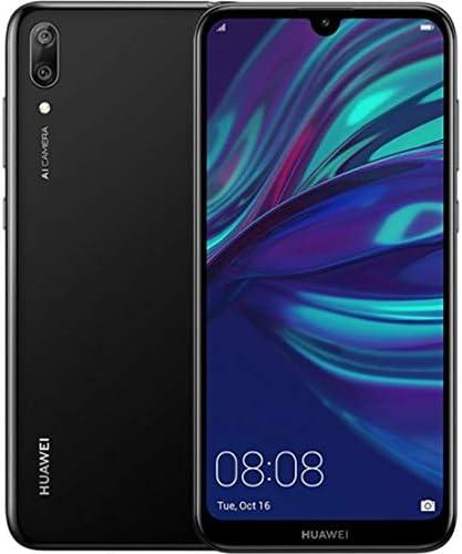 Huawei Y7 Pro 2019 4G LTE (Dub-LX2) 3GB / 32GB Dual Camera 6.26-inches Dual SIM Factory Unlocked - International Stock No Warranty (Midnight Black)