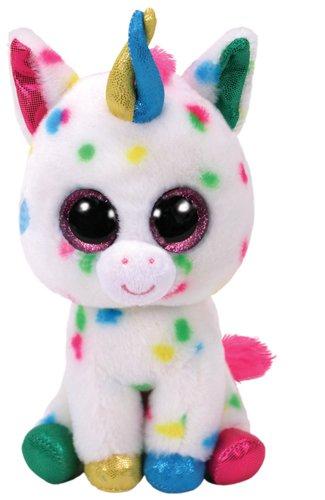 TY Beanie Boo HARMONIE - Speckled Unicorn, 6