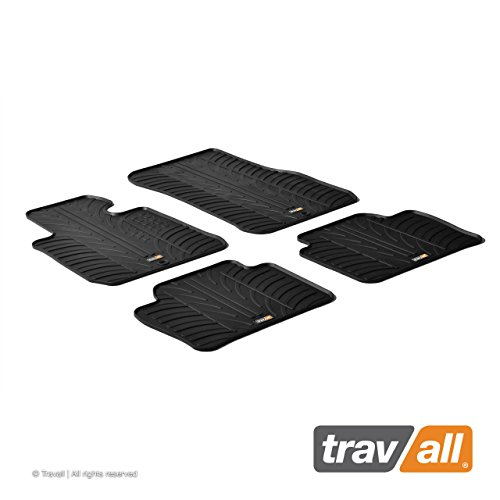 Travall Mats Compatible with BMW 3 Series Sedan or Sports Wagon (2012-Current) Also for BMW M3 Sedan (2014-Current) TRM1181 - All-Weather Rubber Floor Liners