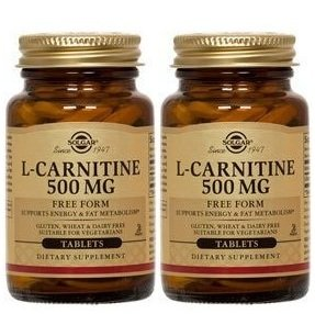 Solgar L-carnitine 500 Mg (Multipack) 60 Tablets