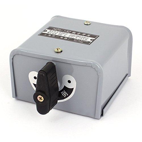 DealMux 500V 20Amp Reversing Drum Switch Forward Stop Reverse Motor Control