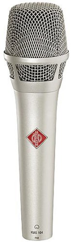 NEUMANN KMS105-NI Vocalist Microphone, Nickel Color