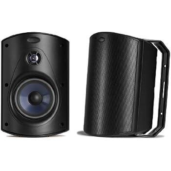 Polk Audio Atrium 6 Speakers (Pair, Black)