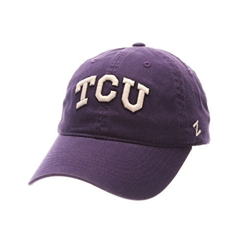 NCAA Tcu Horned Frogs Men's Scholarship Relaxed Hat, Adjustable Size, Team Color -