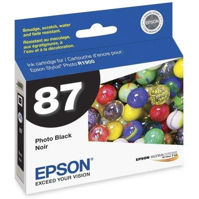 T087120 Ultrachrome Hi Gloss - EPST087120 - Epson T087120 UltraChrome Hi-Gloss 2 Ink