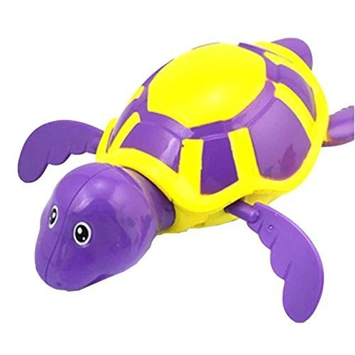 Bath Shower Baby Toys Tortoise Swimming Tub Pool Wind up - Tub Seat Soaking