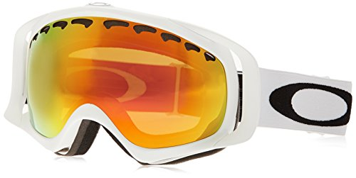 Oakley Unisex-Adult Crowbar Goggles (Matte White,Fire - Goggles Oakley
