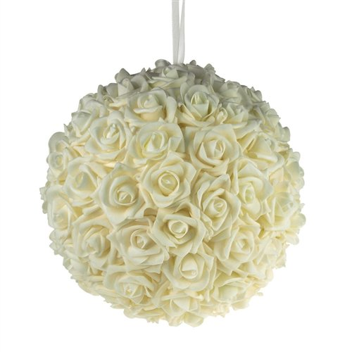 Thing need consider when find ivory kissing balls for wedding?