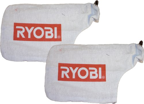 (Ryobi TS1344L Miter Saw Replacement Dust Bag Assembly (2 Pack) # 089006017063 )